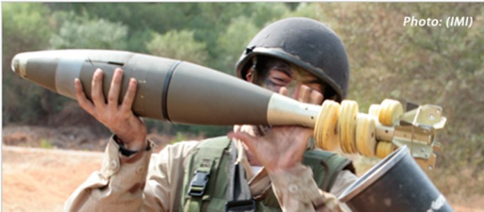 Guided Mortar Munition (GMM) developed by IMI. Photo: IMI