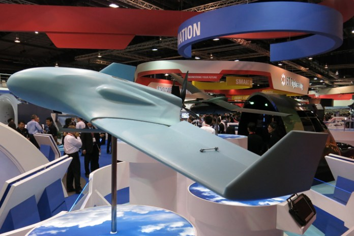 The hybrid drone can carry sonars for underwater surveillance missions. Photo: Tamir Eshel, Defense-Update