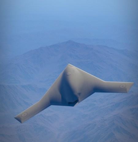 FCAS (Future Combat Air System) candidate design. Illustration: Dassault Aviation.