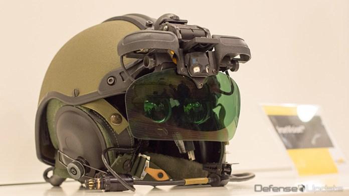 Elbit Systems IronVision Helmet. Photo: Noam Eshel, Defense-Update