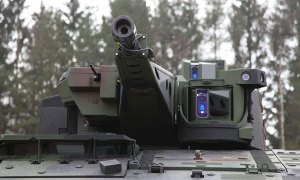 The Boxer CRV has the Lance turret mounting a 30mm cannon. Photo: Rheinmetall