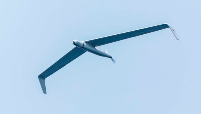 Designed with a 'flying wing' configuration Skylark C is heavier than Skylark I LEX but its larger energy sustains much longer mission endurance. (Photo: Elbit Systems)