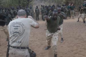 قوات العمليات الخاصة الأسبانية في معسكر تدريب التاجي في العراق. إناكي غوميز / MDE
