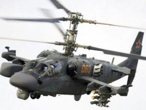 صرحت شركة المروحيات الروسية أنها سوف تزود الأسطول المصري بالمروحيات البحرية المقاتلة من طراز46 Ka-52K لتجهيز حاملة الطائرات من فئة Mistraal التي قد استلمتها مصر من فرنسا. (صورة: المروحيات الروسية)