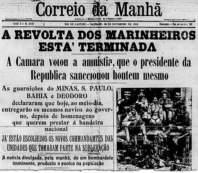 imagem 3 - Em 1910, marinheiros se revoltaram contra chibata e racismo no Brasil pós-abolição