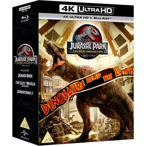 Jurassic Park (3 Film) Collection 1 - 3 4K Ultra HD | Deff.com