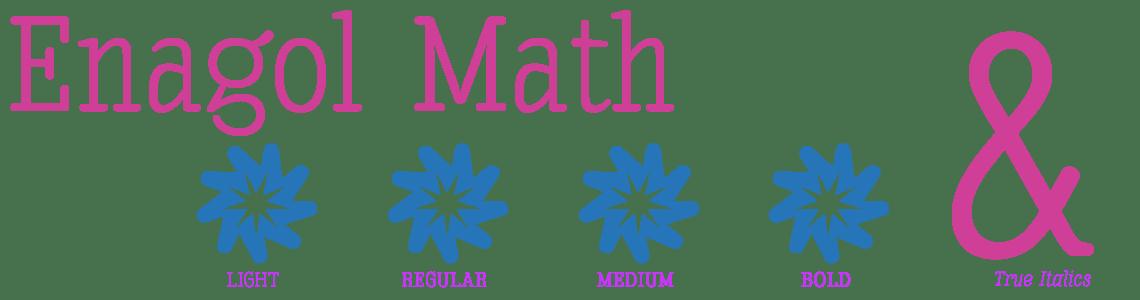 Enagol Math -10 Styles-