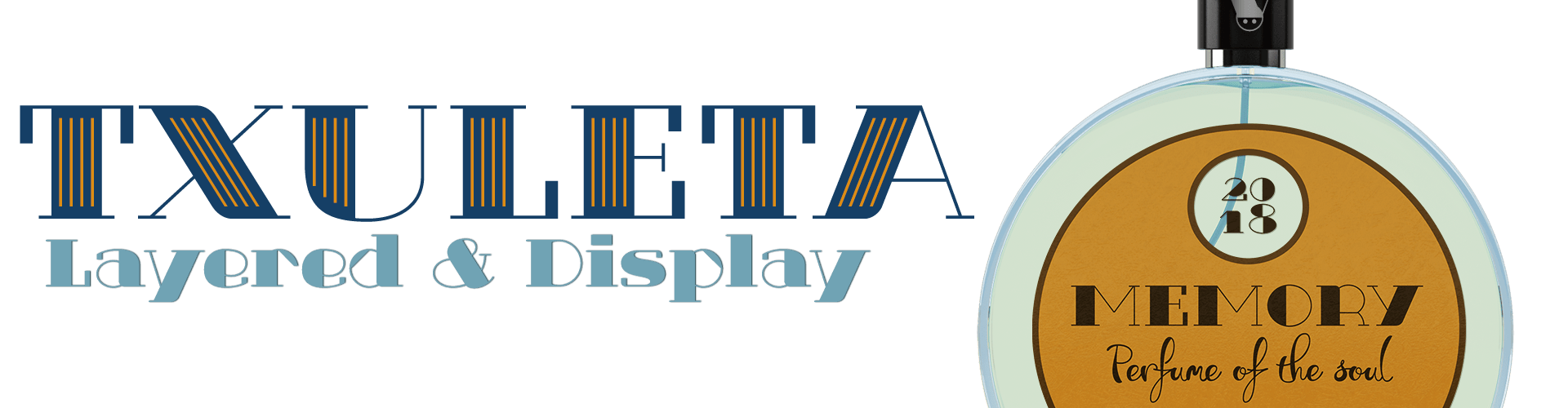 Txuleta a Geometric Display & Didone Fonts