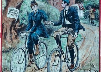 Bicis: Afiches publicitarios vintage