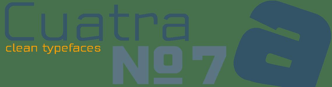 Cuatra Sans - 7 Clean Typefaces