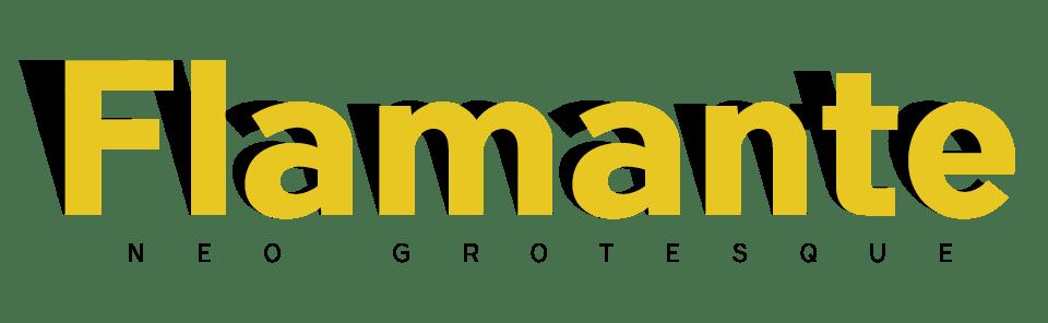 Flamante Snas a Neo Grotesque Typeface Family