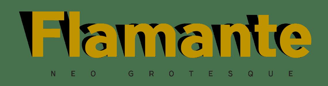 Flamante Sans Neo Grotesque