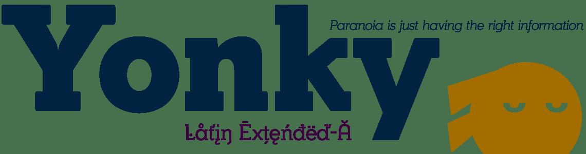 Yonky Slab Serif - Latin Extended-A