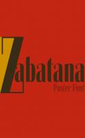 Zabatana compressed font