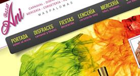 Página web realizada para el bazar ani en gran canaria, dispone de catálogo de productos y tienda electrónica.