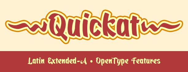 Quickat Calligraphic