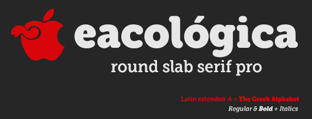 Eacologica Round Fonts
