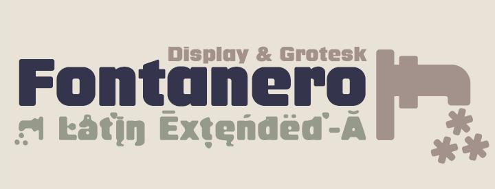 Fontanero -3x1 Fonts-