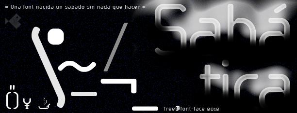 Sabática -3 Fonts-