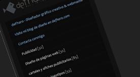 Página web en Flash con galería de fotos para catálogo de productos publicitarios