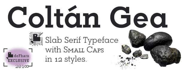 Coltan Gea Slab-Serif