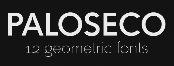Paloseco Sans Geo-Grotesk