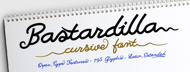 Bastardilla Script