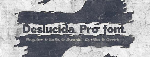 Deslucida Pro -2 Fonts-