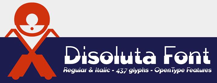 Disoluta -2 Fonts-