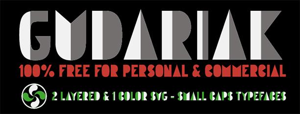 Gudariak Color Font SVG