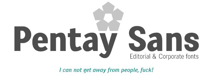 Pentay Sans -Corporate fonts-
