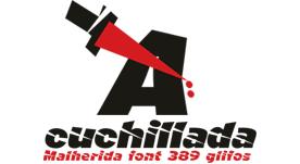 Fuente tipográfica malherida gratis 2014