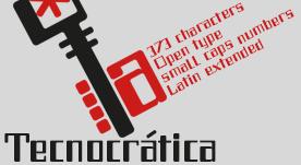Fuente tipográfica industrial gratis 2014