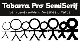 Tabarra Pro SemiSerif Fonts