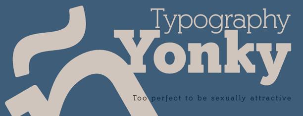 Yonky Slab Fonts