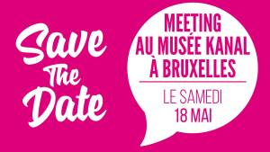 SAVE The DATE – Meeting à Bruxelles