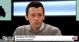 Question politique : Jonathan De Patoul