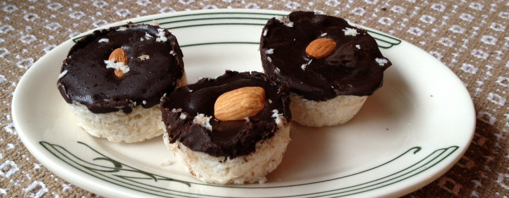 By Demand – a Recipe for Dark Chocolate Coconut Treats