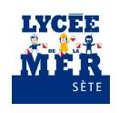logo Lycée de la Mer Sete
