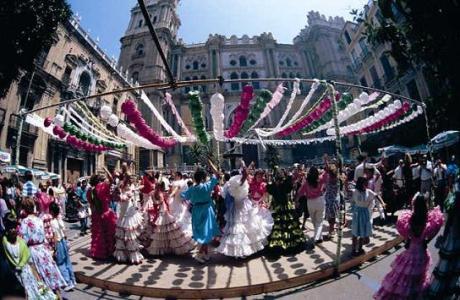 Feria Malaga - Cathedral Square