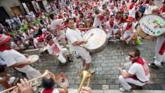 Charanga in Pamplona