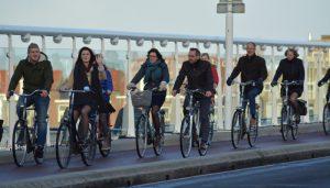 fietsen in de winter