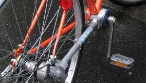 fietsen met asaandrijving