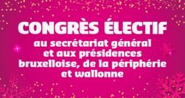 Congrès électif & Réception de Nouvel An : les infos pratiques !
