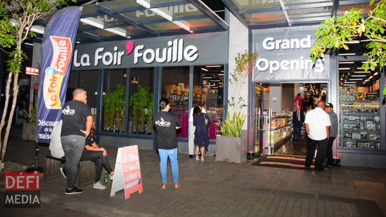 Au Cout De Rs 50 Millions La Franchise Francaise La Foir Fouille S Installe A Maurice Defimedia