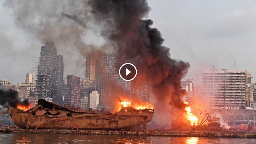 [Audio] Explosions à Beyrouth : «J'ai cru à un tremblement de terre»