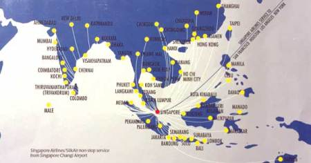 Jetstar Asia Flight Map » Asia Map   Online Interactive Map