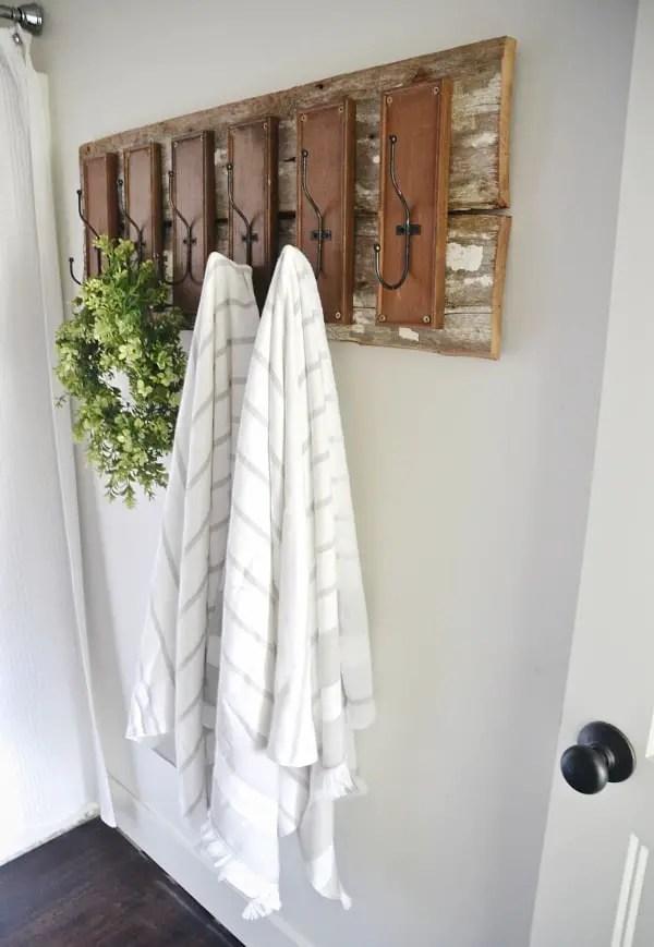 50 epic stylish diy towel rack ideas