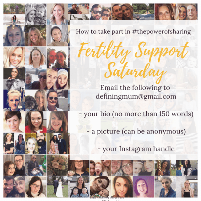 Fertility Support Saturday
