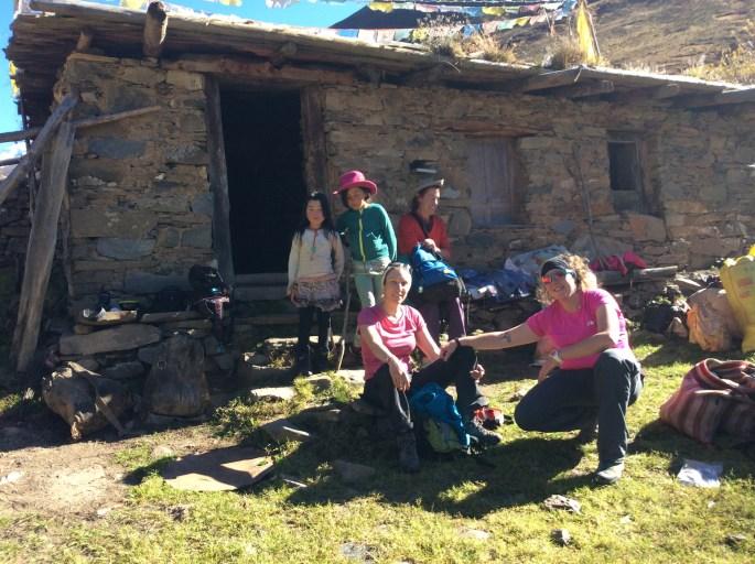 Gongka hut